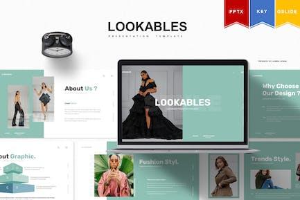 Lookables | Powerpoint, Keynote, Google Slides