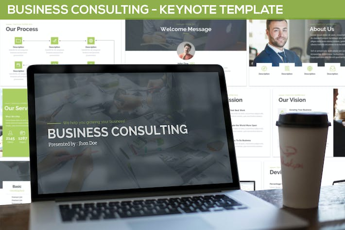 Cover Image For Business Consulting - Keynote Template