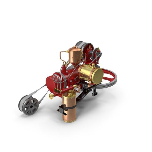 Two-Stroke Piston Engine