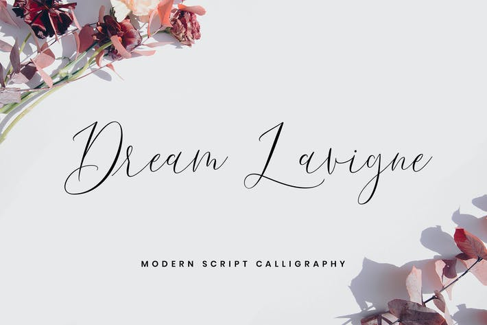 Thumbnail for Dream Lavigne - Fuentes de caligrafía moderna