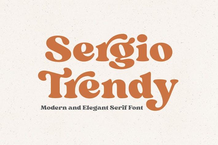 Sergio Trendy Con serifa Fuente