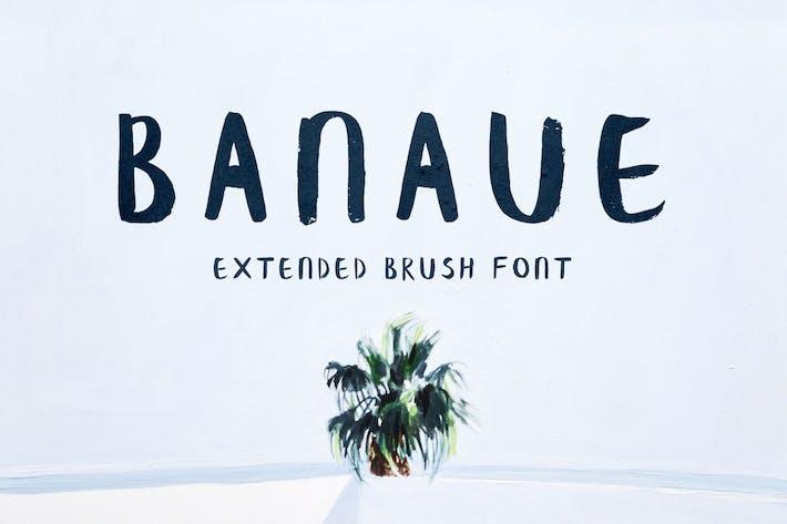 Thumbnail for Banaue Extended Brush Font