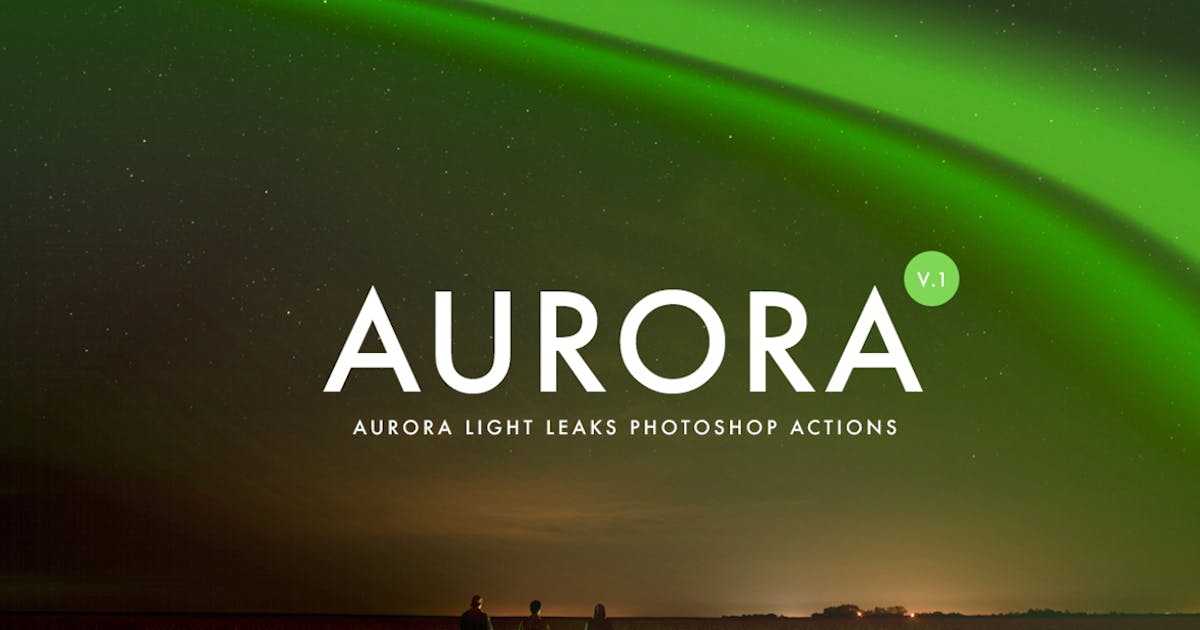 Download Aurora Light Photoshop Actions by micromove