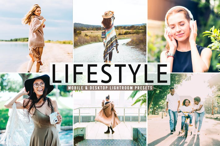 Thumbnail for Lifestyle Mobile & Desktop Lightroom Presets