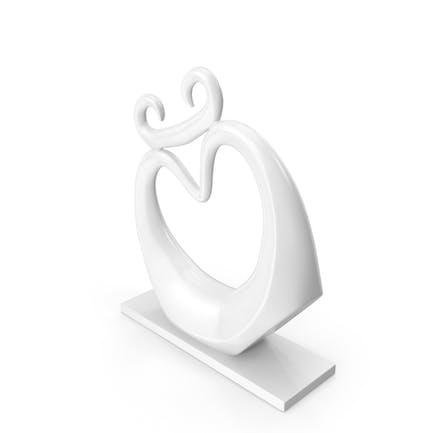 Abstrakte Statuette