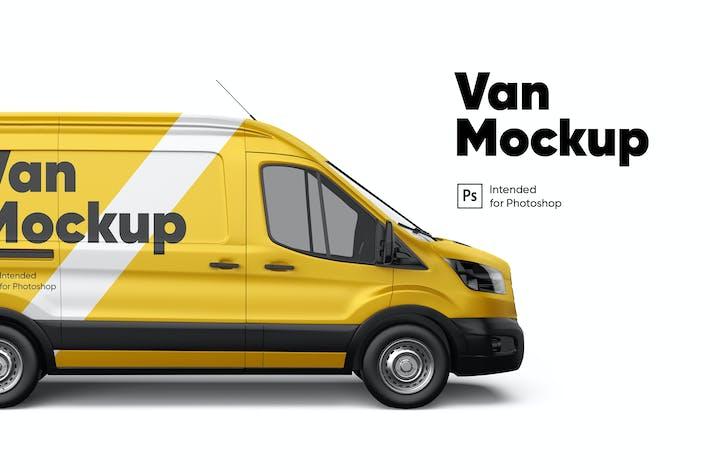 Thumbnail for Van Mockup