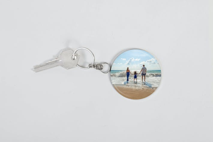Thumbnail for Photo Keychain Mockup