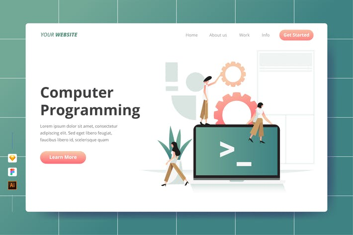 Thumbnail for Computer Programming - Landing Page