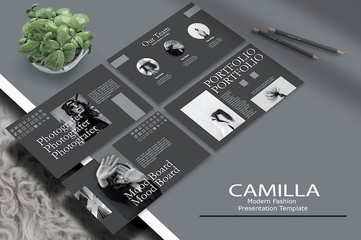 Thumbnail for CAMILLA - Шаблон Keynote