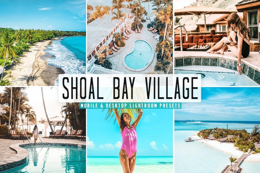 Shoal Bay Village для мобильных и настольных ПК Lightroom Prese