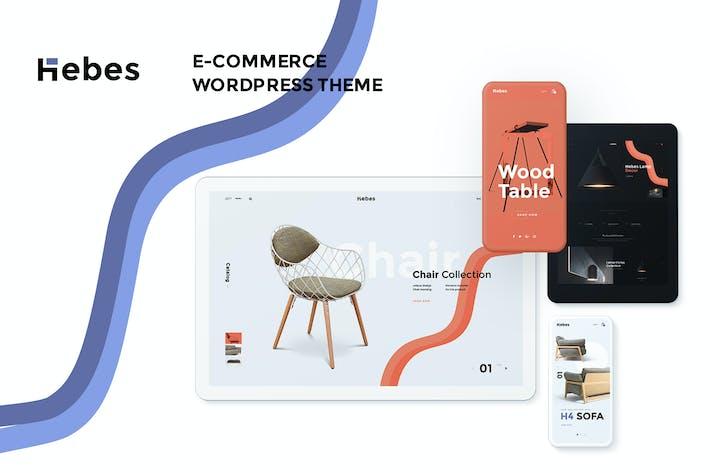 Thumbnail for Hebes - Multipurpose WooCommerce WordPress Thème