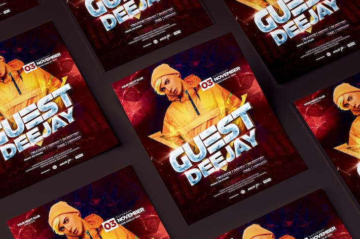 Thumbnail for Guest DJ Flyer