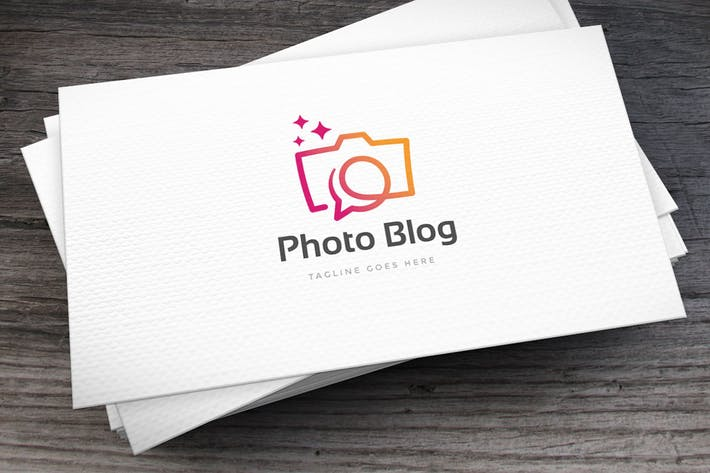 Thumbnail for Photo Blog Logo Template