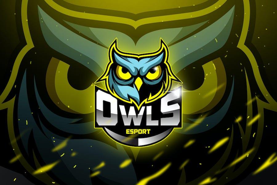 Owls - Mascot & Esport Logo