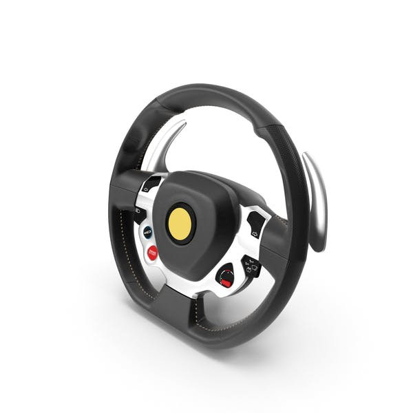 Thumbnail for Sport Car Steering Wheel