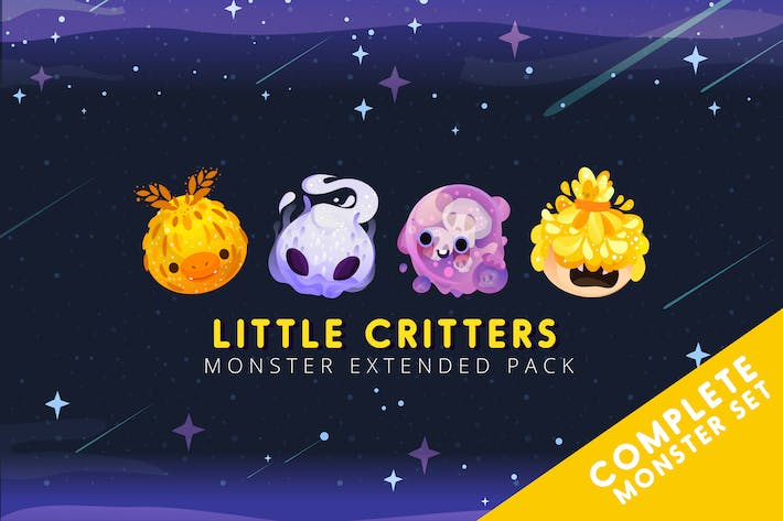 Thumbnail for Little Critters Monster Extended Pack