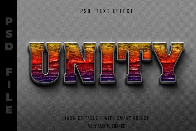 Unity Editable Text Effect