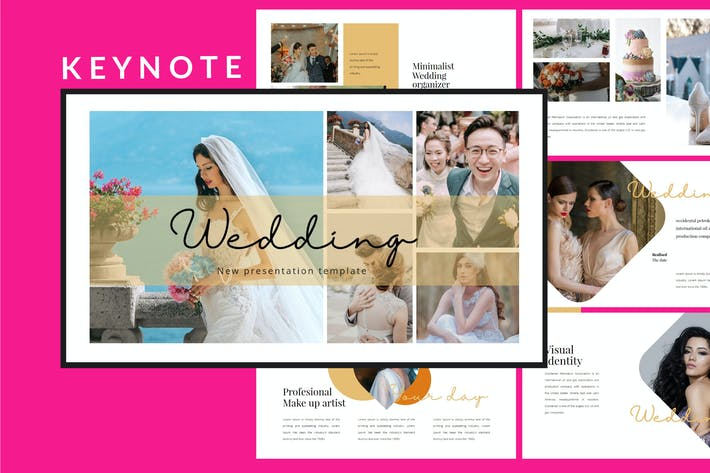 Thumbnail for Wedding Lookbook - Keynote Template
