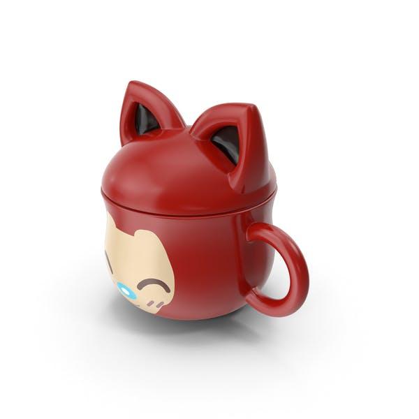 Thumbnail for Anime Cat Mug