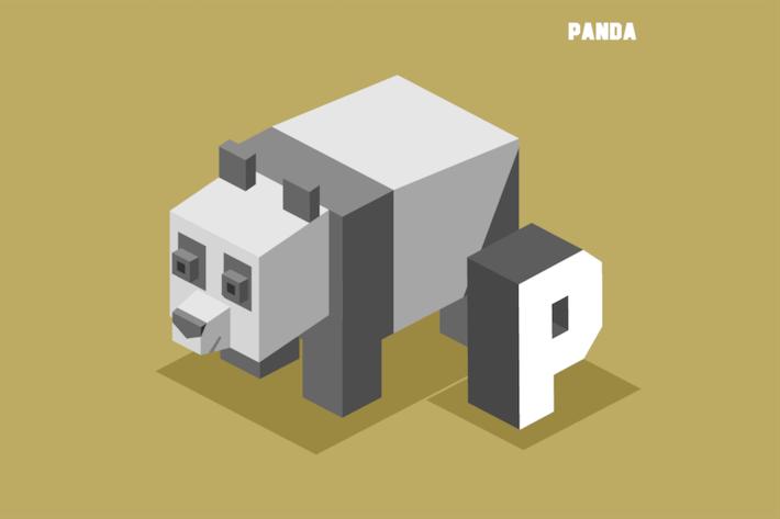Thumbnail for П для Панды. Животный алфавит