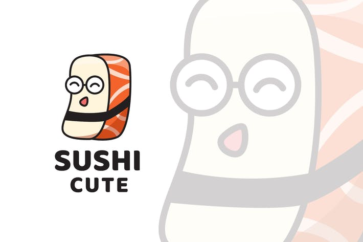 Thumbnail for Sushi Cute Logo Template