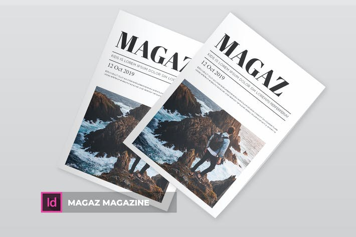 Cover Image For Magaz | Magazine Template