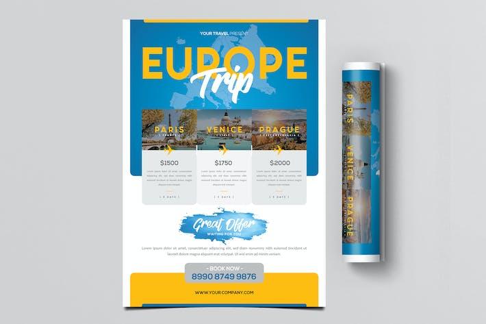 Thumbnail for Reise-Urlaub Flyer