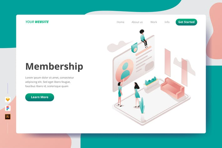 Thumbnail for Membership - Landing Page