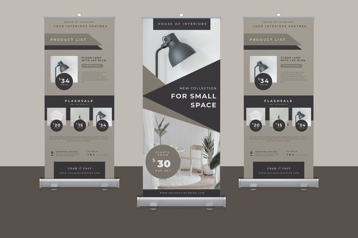 Cover Image For Furniture Roll Up Banner