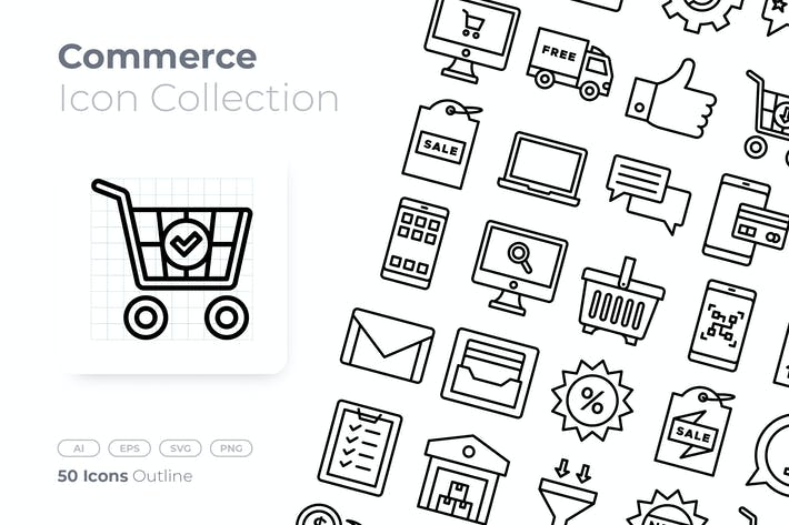 Commerce Outline Icon