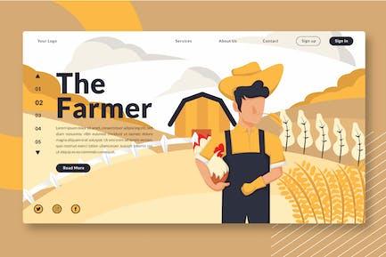The Farmer - Landing Page GR