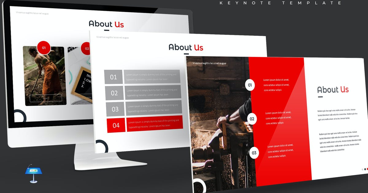 Download Attention - Keynote Template by aqrstudio