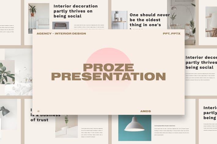 Thumbnail for Proze - Business Presentation