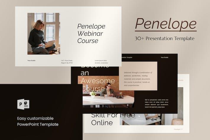 Penelope - PowerPoint Template