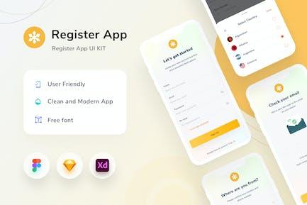 Register Mobile App