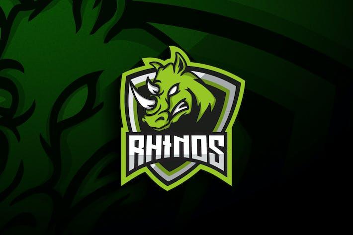 Rhino Esports - Mascot & Esport Logo