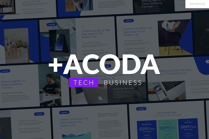 ACODA - Tech Business Keynote Template