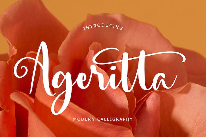 Thumbnail for Ageritta Modern Calligraphy