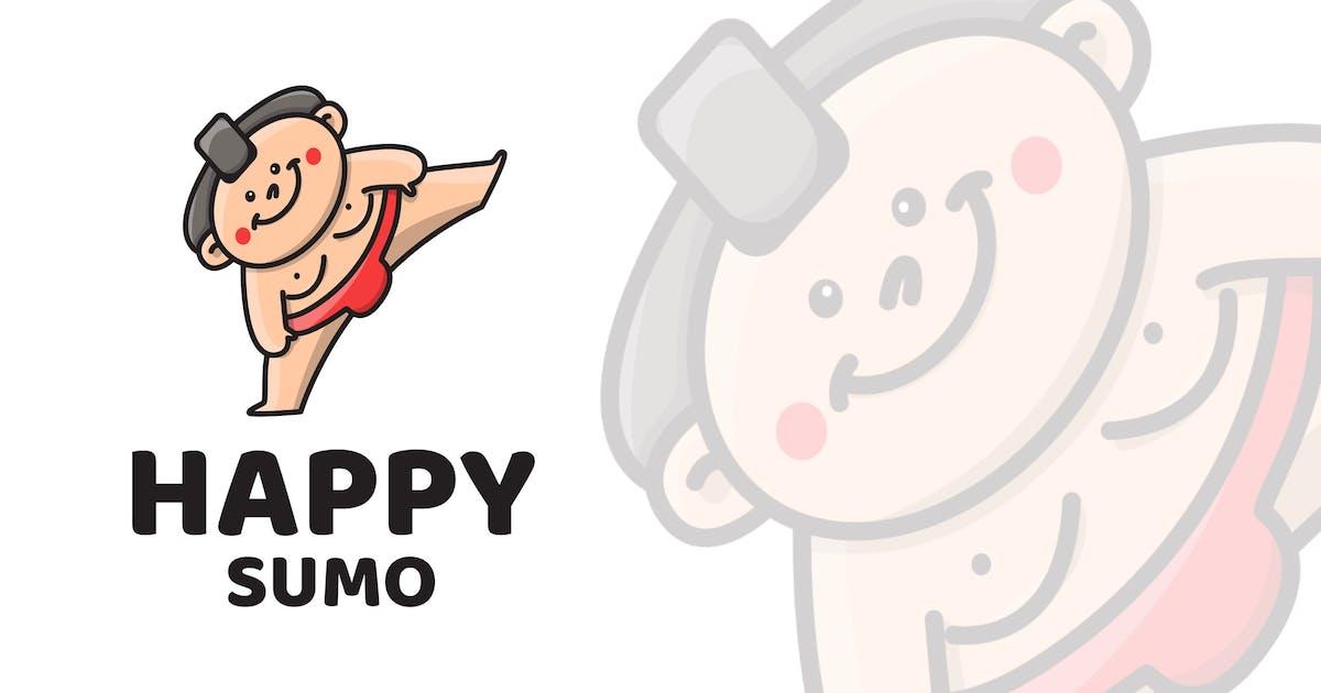 Download Happy Sumo Cute Logo Template by IanMikraz