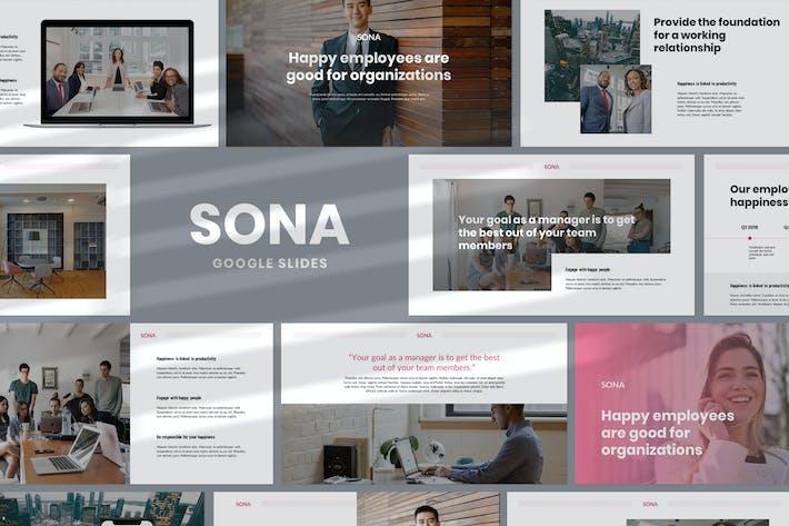 Thumbnail for Sona - Google Slides Presentation