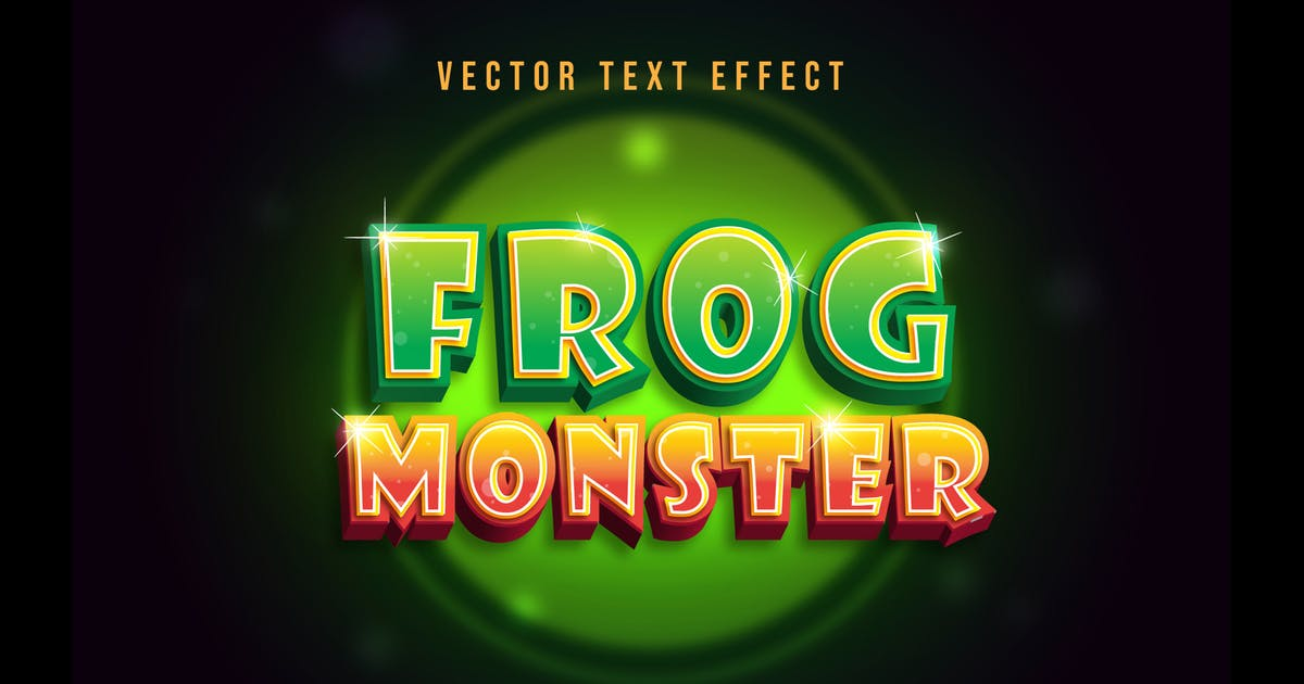 Download Green Frog Text Effect by modaldesain