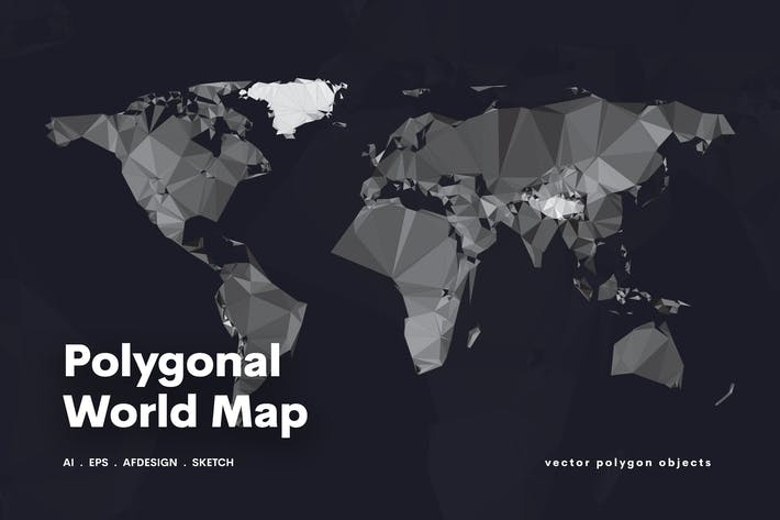 Thumbnail for Polygonal World Map