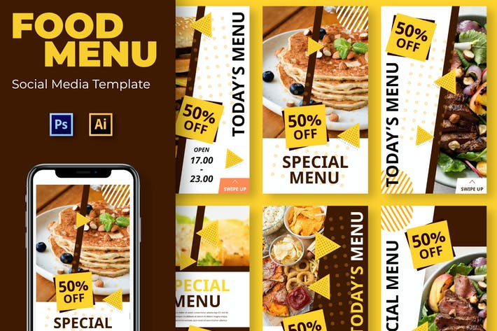 Thumbnail for Open Food Social Media Template