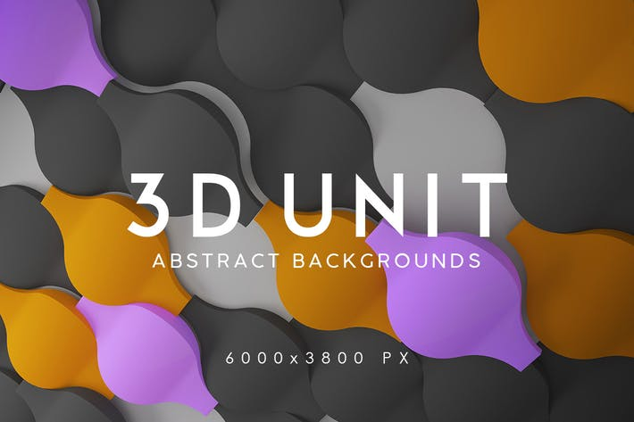 Thumbnail for 3D Unit Abstract Backgrounds 2
