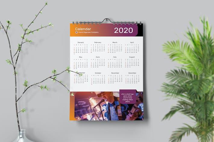 Music Lamp Calendar