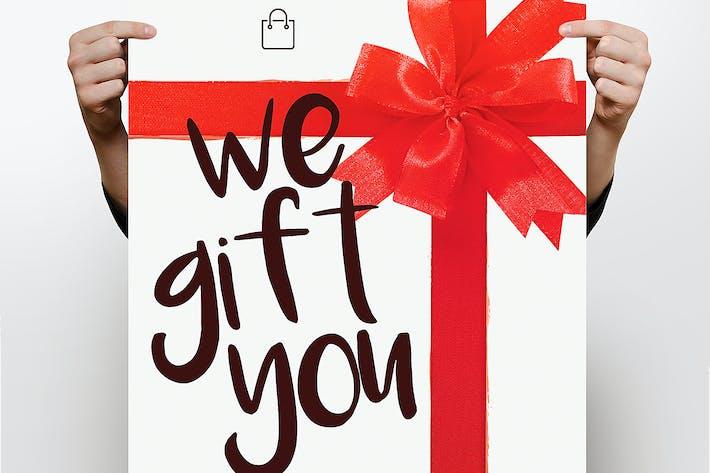 Thumbnail for Gift Flyer