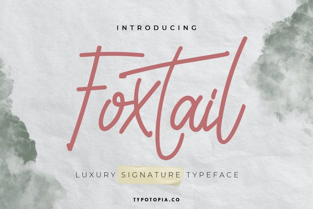 Foxtail Handwriting Font