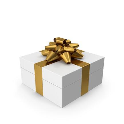 Geschenkbox Weißgold