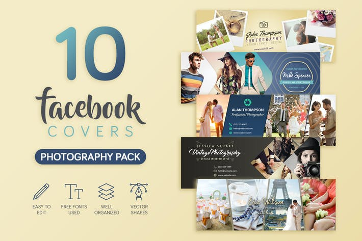 Thumbnail for Photography Facebook Cover