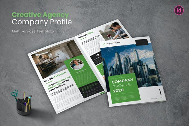 Creative Agency Company Profile